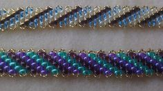 FREE Tutorial on How to Make Diagonal Peyote Stitch ~ Seed Bead Tutorials