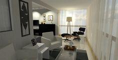 Apresentação de Projeto em 3D para clientes. Escritório Raquel Salgado Interiores