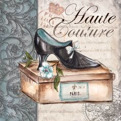 Haute CoutureLadies ShoesCROSS STITCH PATTERN 441 by Maxispatterns