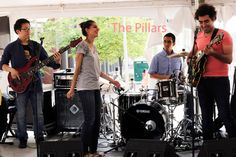 The Pillars live at the Boston GreenFest 2014, performing with Berklee Global Jazz Institute musicians: Juan Ale Saenz and Lee Seung-Ha.