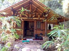 The Bahay Kubo, Balay, or Nipa Hut, is a type of stilt house indigenous to most . The Bahay Kubo, Bamboo House Design, Small House Design, Bahay Kubo Design Philippines, Bamboo Roof, Bamboo Wall, Small Cottage Designs, Bamboo Building, Hut House, Philippine Houses