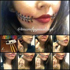 20 Creepy Halloween Makeup Tutorials halloween halloween makeup ideas halloween makeup tutorials makeup idea for halloween halloween diy makeup ideas