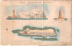 Lighthouse prints | Trinity House, Needles