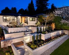Landscape Design Retaining Wall Ideas top 10 ideas for diy retaining wall construction Unique Corner Retaining Wall Design Ideas Contemporary Curbside Excerpt Wood Fingernail Design Ideas Landscaping