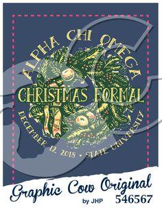 Christmas Formal wreath #grafcow
