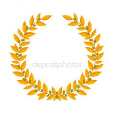 Vintage wreaths heraldic design elements with floral frames made up of laurel branches with green berries on white background. Symbol of winner or valor and mind. Free Vector Images, Vector Free, Vintage Wreath, Laurel Wreath, Branches, Design Elements, Packaging Design, Berries, Frames