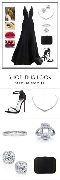 """""""Untitled # 125"""" by binasa87 ❤ liked on Polyvore featuring J. Mendel, Stuart Weitzman, Kwiat and Annello"""