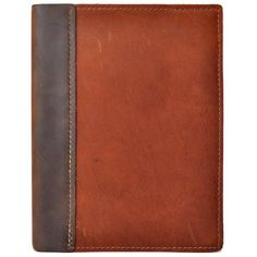 Rustic Refillable Leather Composition Notebook