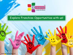 Dreamz Chain of Preschools is on an expansion mode! We invite you to be part of this exciting journey.