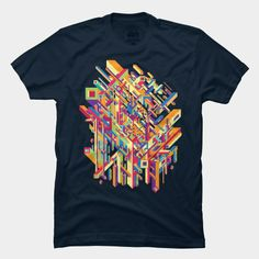 Parallel Universe T Shirt By Roberlan Design By Humans