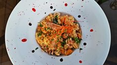 Risotto cu fructe de mare Risotto, Seafood, Spaghetti, Ethnic Recipes, Sea Food, Noodle, Seafood Dishes
