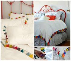 Fringe Bedsheets | 50 DIY Anthropologie Hacks For Every Facet Of Your Life