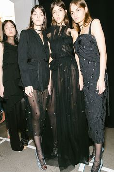 Executive Realness: Go Backstage at Alexander Wang, Plus More of the Top NYFW Shows