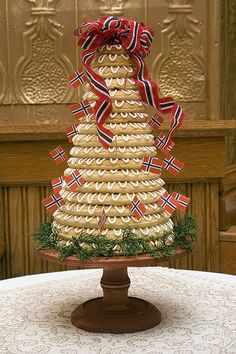 Kransekake - Norwegian wedding cake by chuckles42, via Flickr