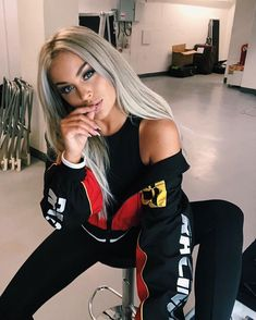 Fanny Lyckman for Misguided ❤️🖤 Casual Chic Outfits, Cool Outfits, Missguided Outfit, Estilo Hip Hop, Girl Fashion, Fashion Outfits, Gorgeous Blonde, Beautiful Girl Image, Pinterest Fashion
