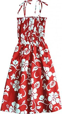 Classic Hibiscus  Womens Hawaiian Dress  Aloha Dress  Hawaiian Clothing >>> Click on the image for additional details. (Note:Amazon affiliate link)