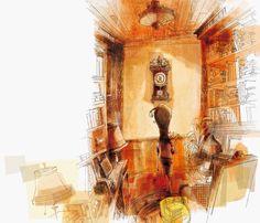 Rogério Coelho - Ilustrador - Rita tem medo