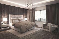 Bedroom: modern bedroom by formforhome Architecture & Design # Schlafzimm . - Bedroom: modern bedroom by formforhome Architecture & Design # Schlafzimmer - Modern Bedroom Decor, Gray Bedroom, Bedroom Furniture, Modern Bedrooms, Ikea Bedroom, Trendy Bedroom, Contemporary Bedroom, Bedroom Colors, Furniture Ideas