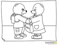 coloriage petit ours brun petit ours brun pinterest