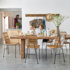 Today we are happy to share with you some fine interiors by wonderful French home-goods store La Redoute that we came across recently. The company started ✌Pufikhomes - source of home inspiration Dinning Tables And Chairs, Interior Styling, Interior Design, Home Goods Store, Pretty Room, Beautiful Interiors, Outdoor Dining, Room Inspiration, Kitchen Remodel