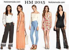 Abbigliamento HM primavera estate 2015 moda donna