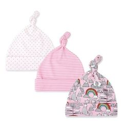 3pcs lot Baby Hats 100% cotton Baby Hats   Caps For 0-6 Months Newborn a8fdd4fd67ac