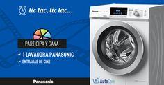 Participa en el quiz de Panasonic para ganar una lavadora con Autocare, y entradas de cinehttps://premium.easypromosapp.com/p/312180?uid=625523816&lc=es-es