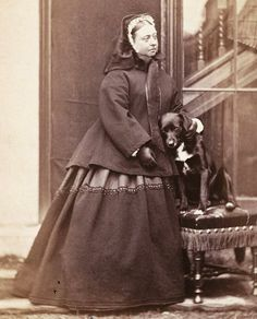 Queen Victoria and Sharp 1866