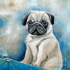 Pet Portraits 12 x 12 Acrylic on Canvas Avail