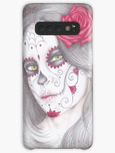 A5 Coloured pencil drawing. • Millions of unique designs by independent artists. Find your thing. Iphone Wallet, Iphone Cases, Galaxy Design, Style Snaps, Sell Your Art, A5, Protective Cases, Colored Pencils, Pencil Drawings