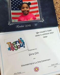 #kindergarten #gift #from #kayleen #teacher #mrs. Ruiz #lajolla #elementaryschool #june #1st #2017 #thankyou 🤗❤️ #lajollalocals #sandiegoconnection #sdlocals - posted by Soria  https://www.instagram.com/sori23. See more post on La Jolla at http://LaJollaLocals.com