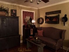 Love This Living Room Primitive Homes Country Decor