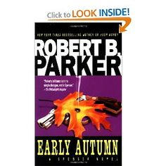 Love this for several reasons, 1. Robert B. Parker is awesome, 2. I always picture Robert  Urich when I read the Spenser series (and I read it often) and 3. in this  particular book I know the part of New Hampshire and Maine he goes to, even the restaraunt Horsefeathers (though I don't know if it is still there)