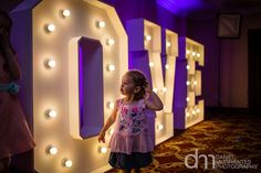 Marriott Worsley Park Wedding Photography – Kirsty & Martin » Lancashire Wedding Photographer LED LOVE LETTERS By Gary from www.KillaParty.co.uk