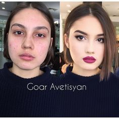 The Power of Make-up, 10 avant-après surprenants ! Contour Makeup, Contouring And Highlighting, Eye Makeup, Hair Makeup, Ugly Makeup, Makeup Before And After, Power Of Makeup, Magical Makeup, Without Makeup