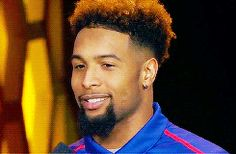 I think I'm in love with his smile ❤️ Odell Beckham Pinterest @Leasha D