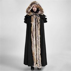 Foxa Cloak cape, fairytales come to live while wearing this coat!