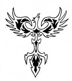 Phoenix Tattoo Design by TriadChild on deviantART