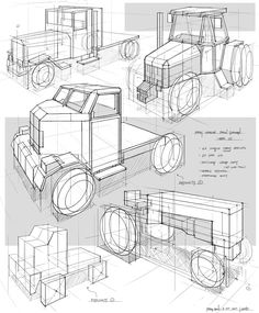Feng Zhu Design: Perspective Sketching