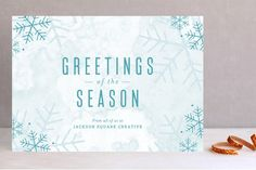 Sketched Snow by Katie Wahn at minted.com