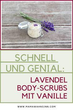 Fertig in zwei Minuten: Das tolle Lavendel Bodypeeling mit Vanille riecht nicht nur herrlich, sondern macht die Haut super weich und geschmeidig.  #bodyscrubs #bodypeeling #lavendelliebe #blitzrezept Top, Lavender
