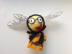 Spelling Bee  with spellings book by BeguilingBeeEmporium on Etsy, £7.50