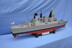 HMS Daring  - TONY DALTON describes his semi-scale model