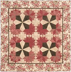 Quilting With Shar. Quilting Templates, Quilt Patterns, Star Quilts, Quilt Blocks, Floral Quilts, Nosegay, Quilted Wall Hangings, English Paper Piecing, A 17