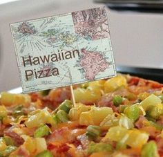 Gourmet Pizza Recipes {Hawaiian Pizza & Italian Pizza}