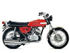 """Kawasaki 500 H1 """"Mach III"""" (1970)"""