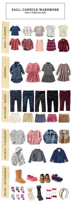 Fall Capsule Wardrobe for a Toddler Girl    Kiss My Tulle