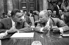 Gamel Abdel Nasser and Habib Bourguiba