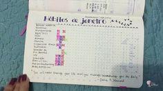 Hábitos usando bullet journal