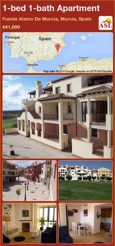 1-bed 1-bath Apartment in Fuente Alamo De Murcia, Murcia, Spain ►€41,000 #PropertyForSaleInSpain
